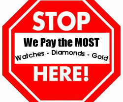 Sansom Watches Philadelphia Jewelers row pays the most for watches diamonds gold